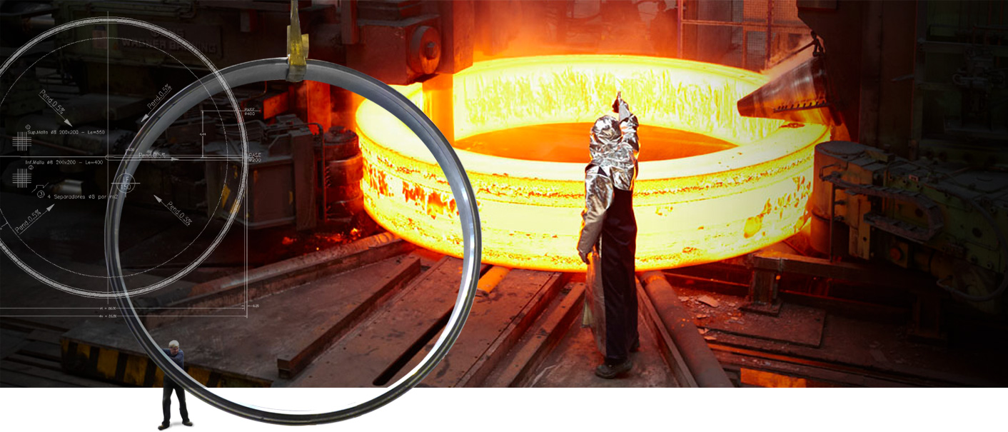 Manufacture of seamless rolled rings